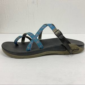 Chacos Zong Ecotread Slide Toe Loop Sandals W12